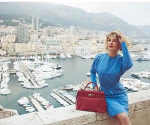 actress, bag, and boat image