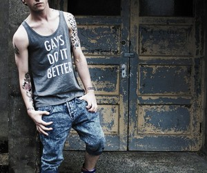 gay, boy, and tattoo image
