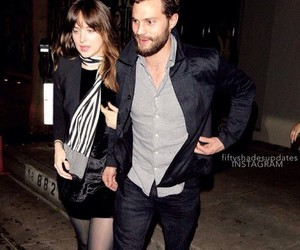 couple, fifty shades of grey, and Jamie Dornan image