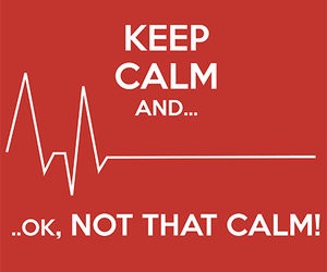heart, keep calm, and medicine image