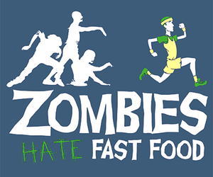 zombies, fast food, and funny image