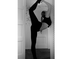 fitness, flexible, and gymnastic image