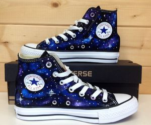 converse, galaxy, and all star image