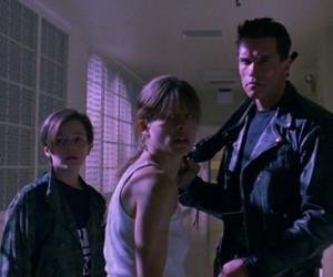 terminator, sarah connor, and john connor image
