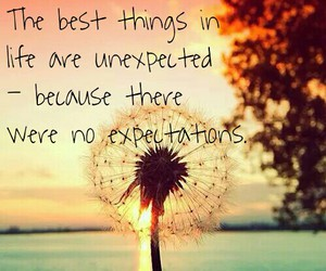 best things, sunset, and quotes image