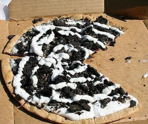 pizza, food, and oreo image