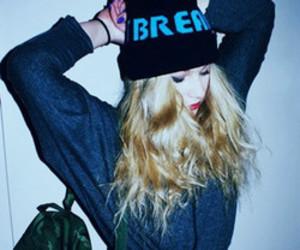 grunge, girl, and blonde image