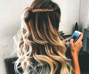 awesome, curls, and girly image