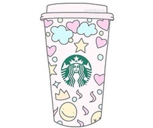 starbucks, overlay, and transparent image