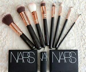 Brushes, makeup, and nars image