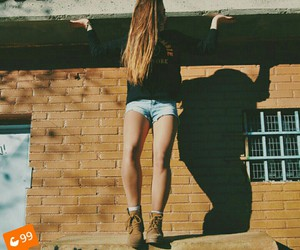 blonde, boots, and cali image