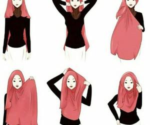 hijab and hijab tutorial image