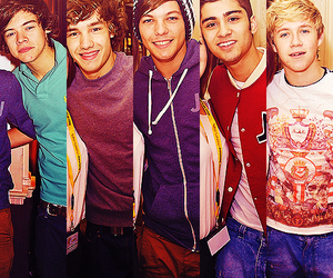 louis, 1d, and niall image