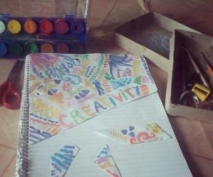 art, artistic, and create image