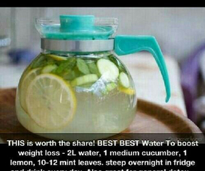 healthy, fitness, and water image