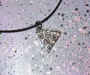 jewelry and pizza image