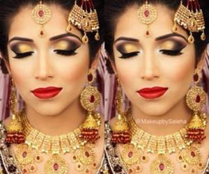 bride and makeup image