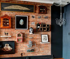 industrial house design and loft style decorating image