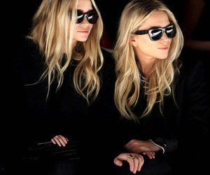 fashion, twins, and olsen image