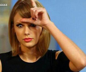 Taylor Swift and loser image