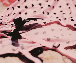 black, lingerie, and loop image