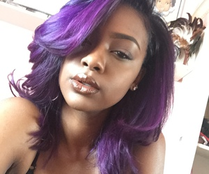 purple, purple hair, and purple unicorn image