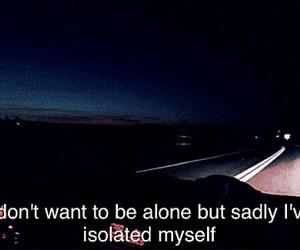 grunge, isolation, and sad image