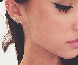 Piercings, ear pierced, and madison beer image