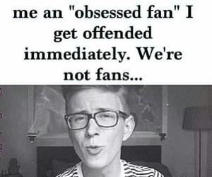 tyler oakley, fangirls, and fan image