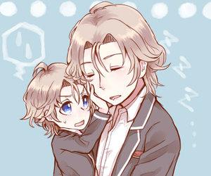 anime, boy, and chibi image