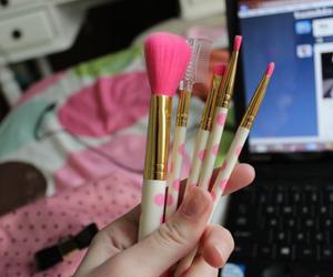 tumblr, pink, and makeup image