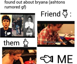 5sos, bryana holly, and michael clifford image