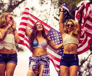 girls, Tomorrowland, and edm image