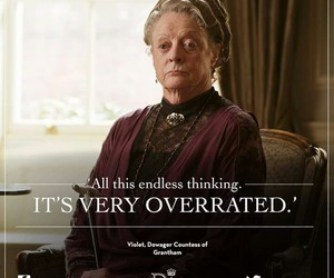 maggie smith, quotes, and downton image