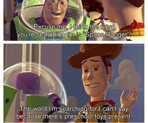 buzz, disney, and funny image