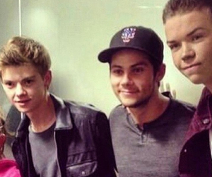 thomas brodie sangster, maze runner, and dylan o brien image