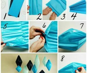 diy, blue, and diamond image