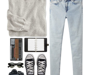 converse, sweater, and cute image