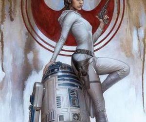 droids, jedi, and light saber image