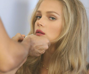 blonde, blondie, and lashes image