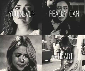 pretty little liars, pll, and heart image