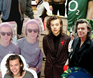 Collage, pictures, and Harry Styles image