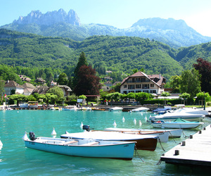 beautiful, boat, and france image