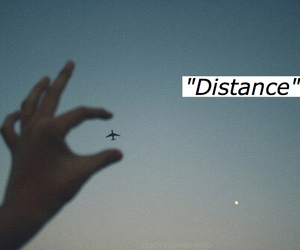 distance, grunge, and hand image