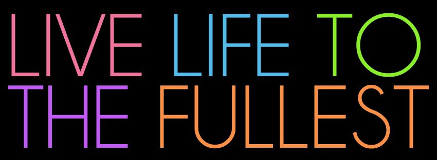colorful, text, and life image