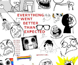 funny, rage comic, and fangirling image