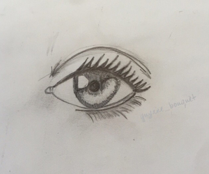 bored, eye, and eyes image