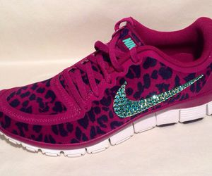 bling, pretty, and sneakers image