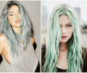 blue, green, and grunge image