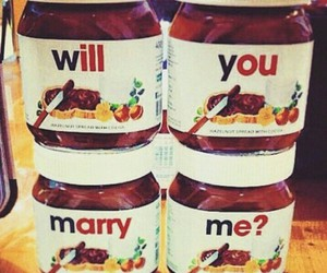 nutella, chocolate, and marry image